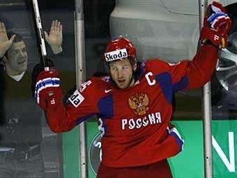 Алексей Морозов назначен капитаном Российской сборной по хоккею