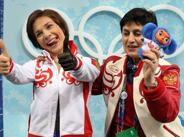 Олимпиада в Ванкувере. Фигурное катание. Алёна Леонова
