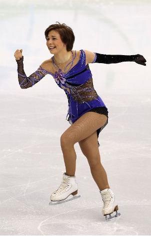 Олимпиада 2010. Фигурное катание. Алёна Леонова
