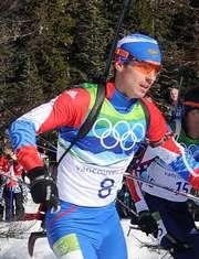 Евгений Устюгов на масс-старте