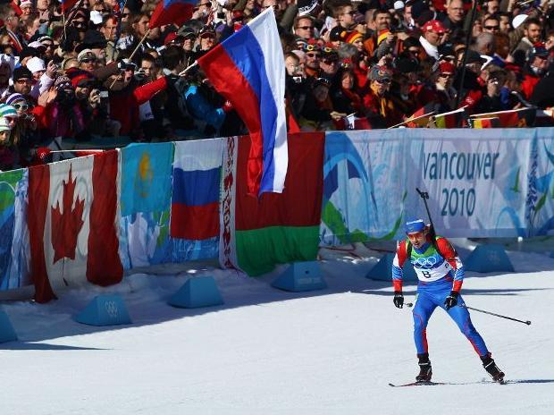 Евгений Устюгов - золотой финиш
