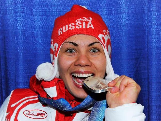Екатерина Илюхина не расстаётся со своей медалью даже ночью