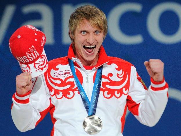 Скобрев Иван - заслуженная Олимпийская медаль