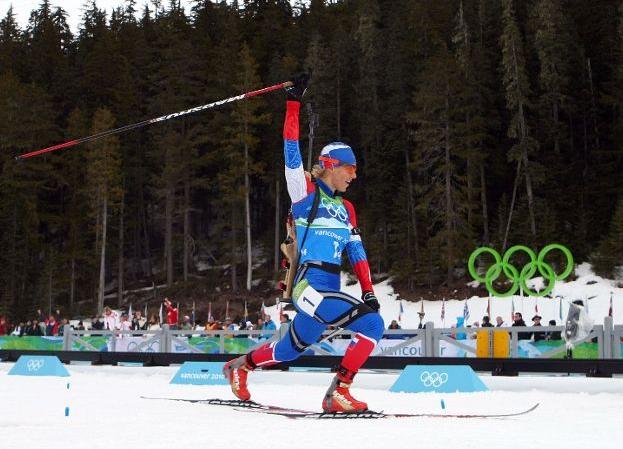 Ольга Зайцева на финишной прямой