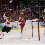 Олимпиада 2010. Хоккей. Четвертьфинал. Сборная России - сборная Канады